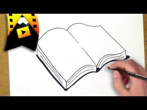 Comment Dessiner Un Livre Youtube En 2019 Dessin Livre