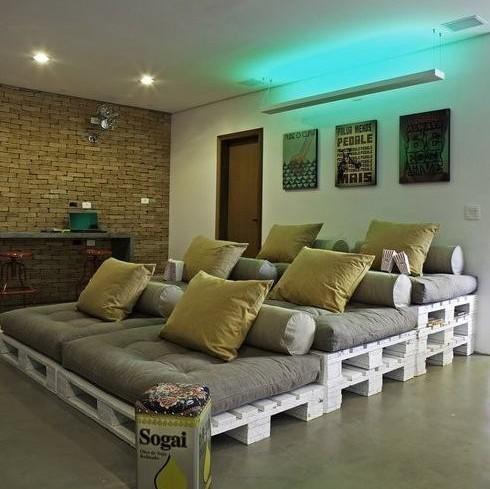 mira estos originales muebles hechos con palets para decorar tu hogar hogar total