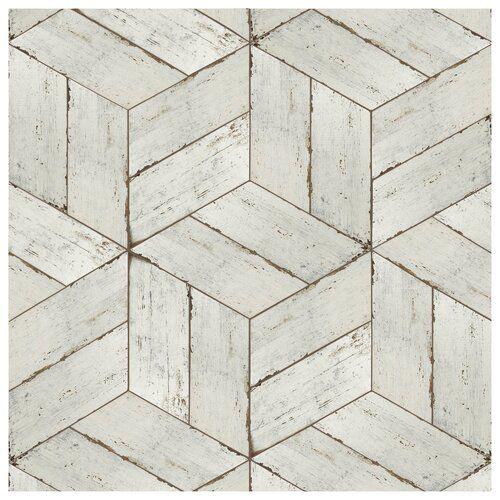 Rama 14 X 16 Porcelain Wood Look Tile Carrelage En Bois