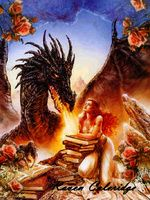 """""""La sangre de la rosa"""", una #NovelaRomántica que ahonda en la figura de Sant Jordi y su leyenda.  #dragones"""