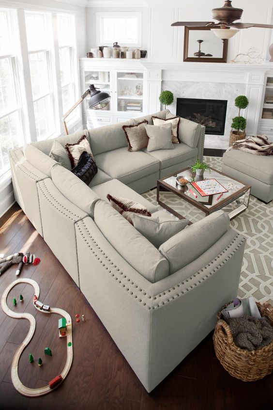You can still have the glamorous life with a comfortable, yet beautiful piece like the Athens sectional. Only at American Signature Furniture!