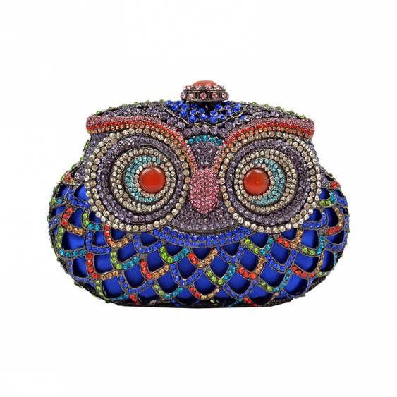 Blue Owl Clutch: