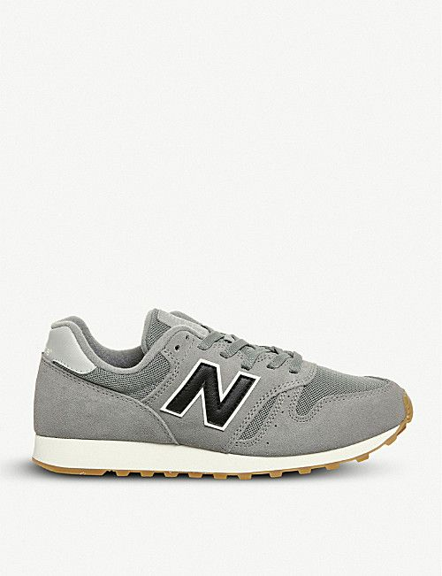 NEW BALANCE ML373 suede and mesh trainers | New balance, Trainers ...