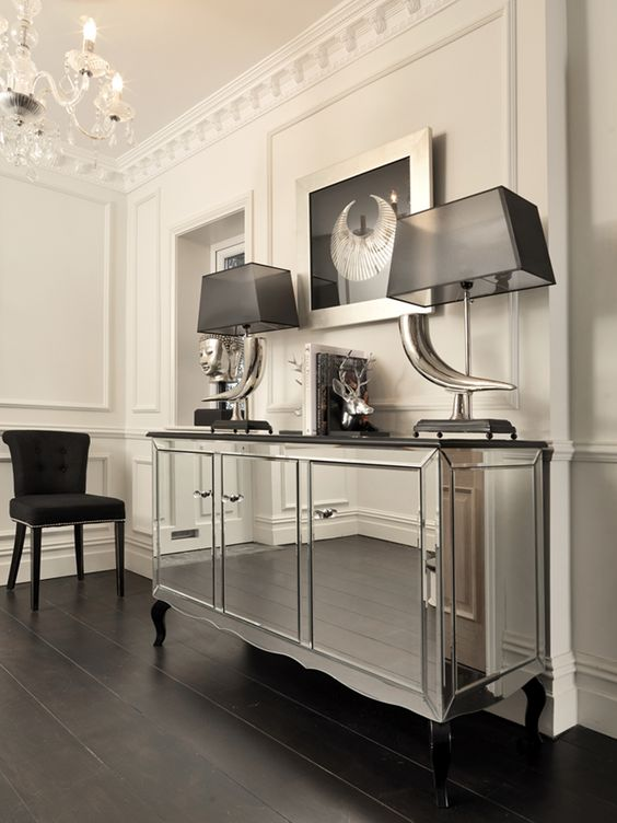 Our stunning chelsea sideboard sideboards cabinets credenzas storage waiterstations Mirrored living room furniture
