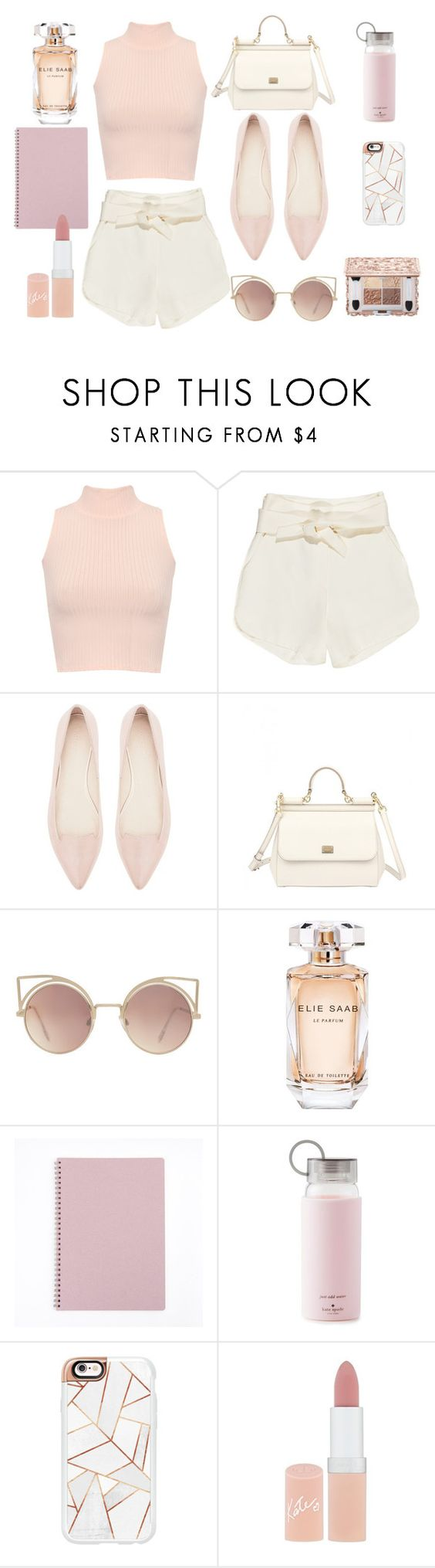 """""""FLATS."""" by valemx ❤ liked on Polyvore featuring WearAll, IRO, Witchery, Dolce&Gabbana, MANGO, Elie Saab, Kate Spade, Casetify and Rimmel"""