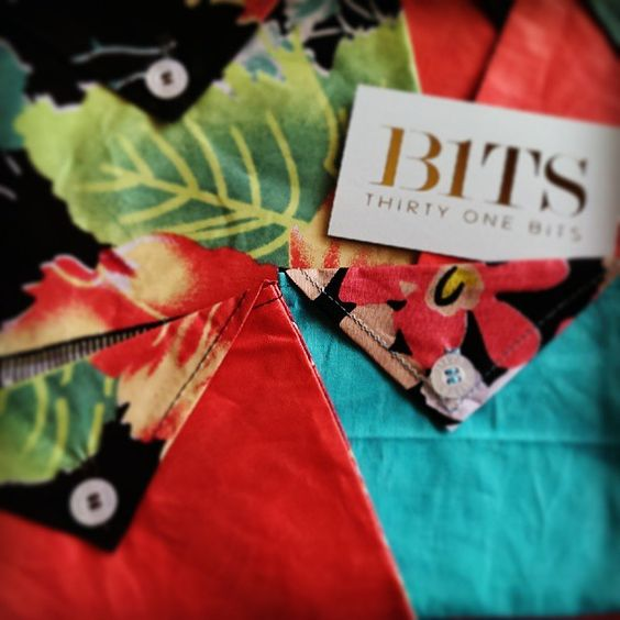 Best bonus ever! Jewelry bags with our 31 Bits order. Photo by glitterandgritpgh