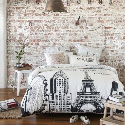 37 Impressive Whitewashed Brick Walls Designs | DigsDigs: