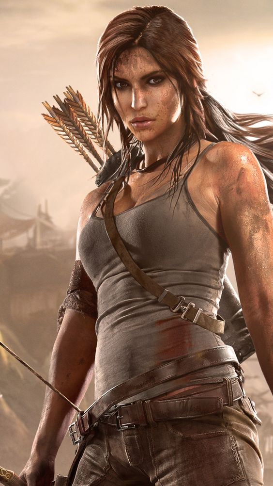 I want to cosplay as this version of Lara Croft I love how proportionate her waist to hip ratio are now