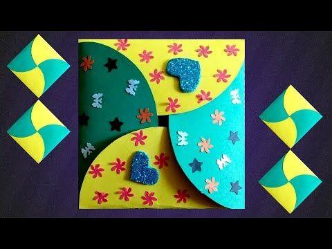 Handmade Envelope Making Ideas Fancy Gift Envelopes With A4 Paper Envelope Card Design Tutorial Yout Handmade Envelopes Cards Handmade Gift Card Envelope