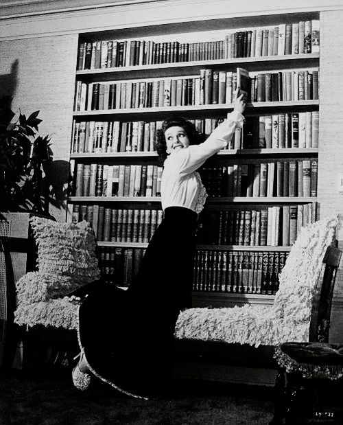 Loretta Young's private library, 1943: