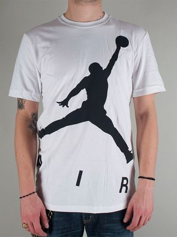 nike zoom de l air huarache - NIKE JORDAN 604979 100 JUMPMAN COLOSSAL AIR TEE T-shirt Manica ...