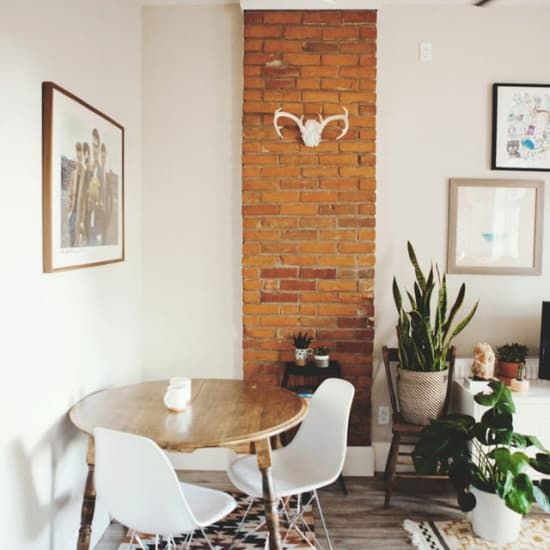 How To Push Dining Table Against Wall For More Kitchen Space