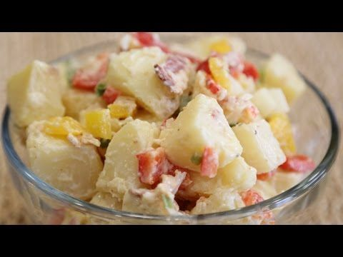 Blue Cheese Potato Salad! - #CookingWithApril http://youtu.be/3pFq-9zI9b4