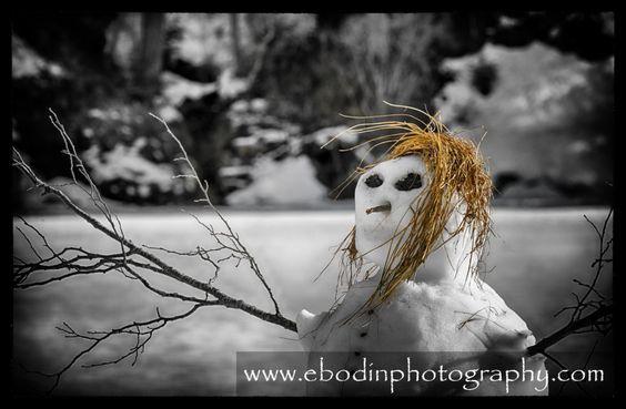 Bonhomme - Prise de vue à Thorenc dans les Alpes Maritimes - © 2014
