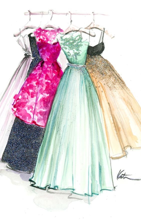 Fashion Illustrations by Katie Rodgers