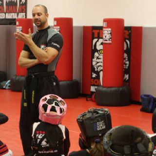 Great way to train body and mind...with Tiger Schulmanns MMA