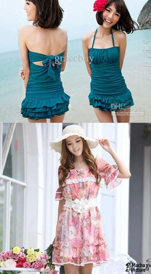 Mini beach dress - 3 PHOTO!