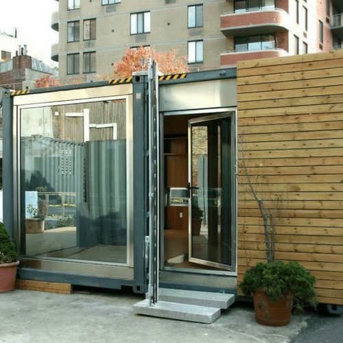 An Attractive Shipping Container House Shows The Benefits Of Prefab Living.  This Shipping Container Prefab, Built Out Of 70 Percent Recycled.