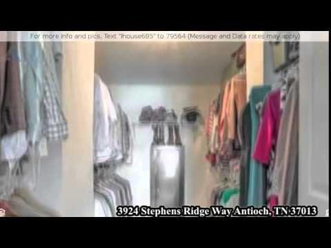 3924 Stephens Ridge Way Antioch, TN 37013 - YouTube