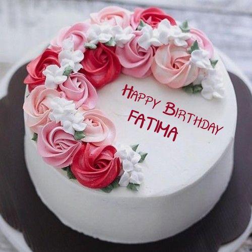 Beautiful Birthday Cake With Name Write Profile Girl Birthday