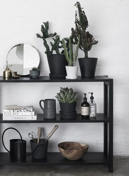 Home decor tips and shopping finds for styling bookshelves from TheFashionMagpie.