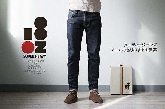 #NUDIE JEANS CO Steady Eddie Heavy Japan www.tremendousonly.fr #Denim, #Japon, #Suède