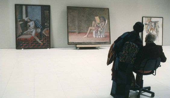 Balthus in gallery