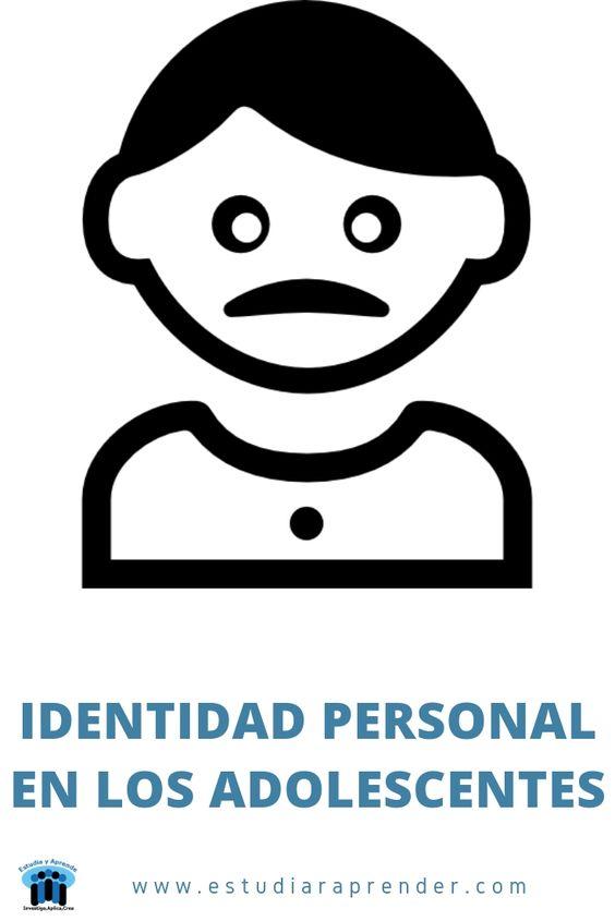 identidad personal en los adolescentes