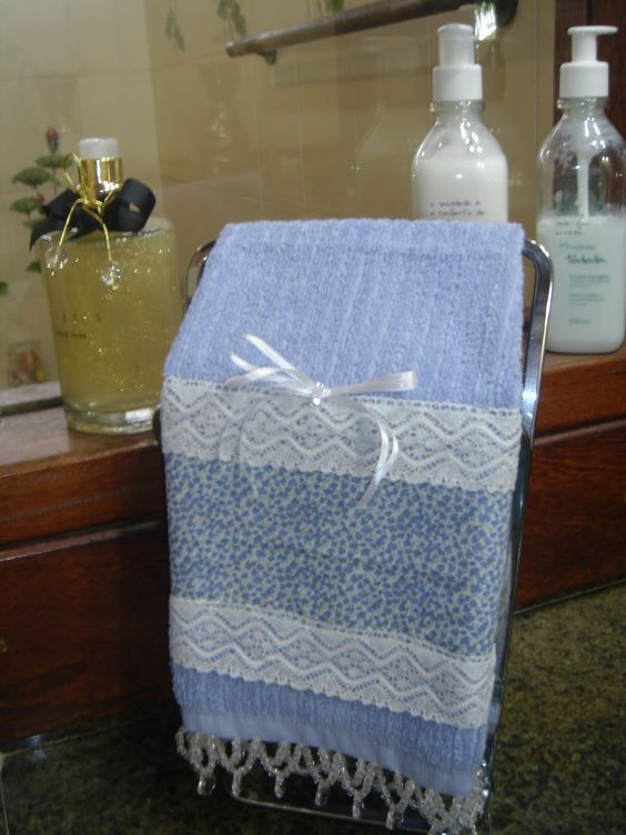 toalhas para lavabo bordada - Pesquisa Google