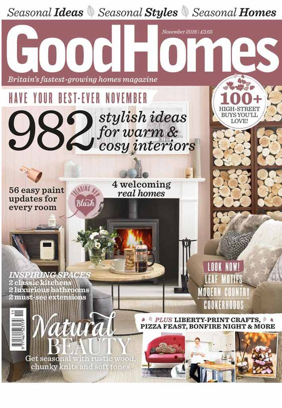The Cottage Is Featured Over 9 Pages In Good Homes Interior Design