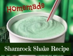 shamrock shake recipe homemade shamrock healthy shamrock ish shamrock ...