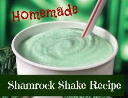 shamrock shake recipe homemade shamrock healthy shamrock ish shamrock ...