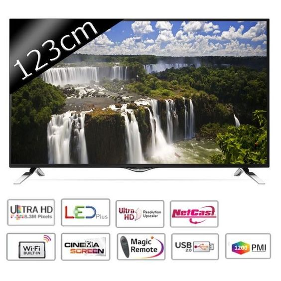 599.99 € ❤ Les #Soldes #LG #TV 49UF695V - UHD #4K - 123cm (49 pouces) - LED - Smart TV - WiFi / DLNA - 3 HDMI - Classe A+ ➡ https://ad.zanox.com/ppc/?28290640C84663587&ulp=[[http://www.cdiscount.com/high-tech/televiseurs/lg-tv-49uf695v-uhd-4k-123cm-49-pouces-led/f-1062623-lg49uf695v.html?refer=zanoxpb&cid=affil&cm_mmc=zanoxpb-_-userid]]