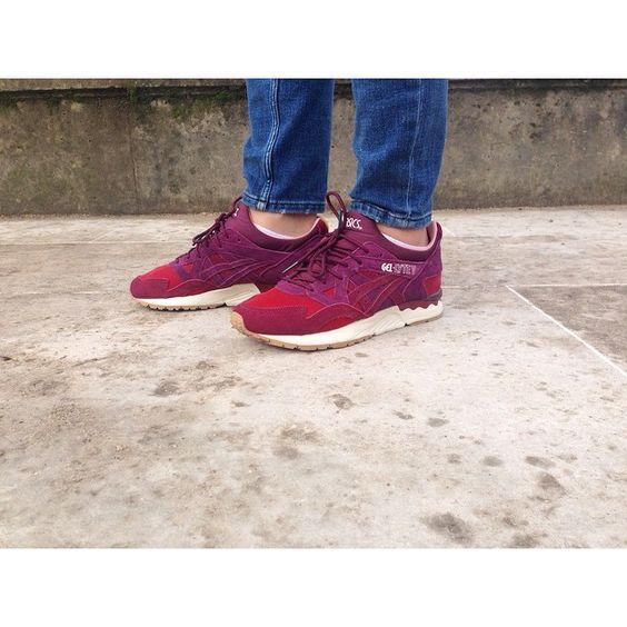 asics gel lyte v dried rose mita sneakers