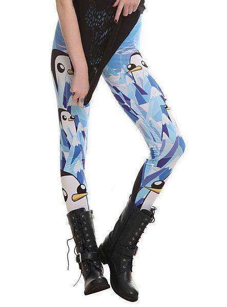 Adventure Time Gunter Leggings   Hot Topic