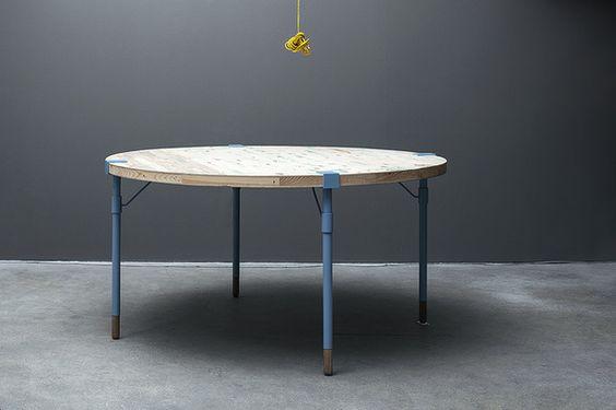 Runder Esstisch ~ Runder Esstisch  Recycling Furniture Design  Pinterest  Products