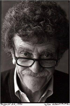 Kurt Vonnegut, what a mind!: