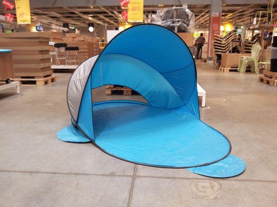 IKEAのワンタッチテントがおしゃれ&低価格でオススメ!たたみ方も解説