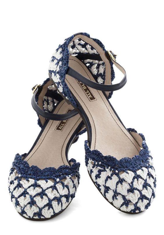 Sapatos de Crochê, como fazer   Inspiração, tutoriais e referências em Crochet  Shoes: