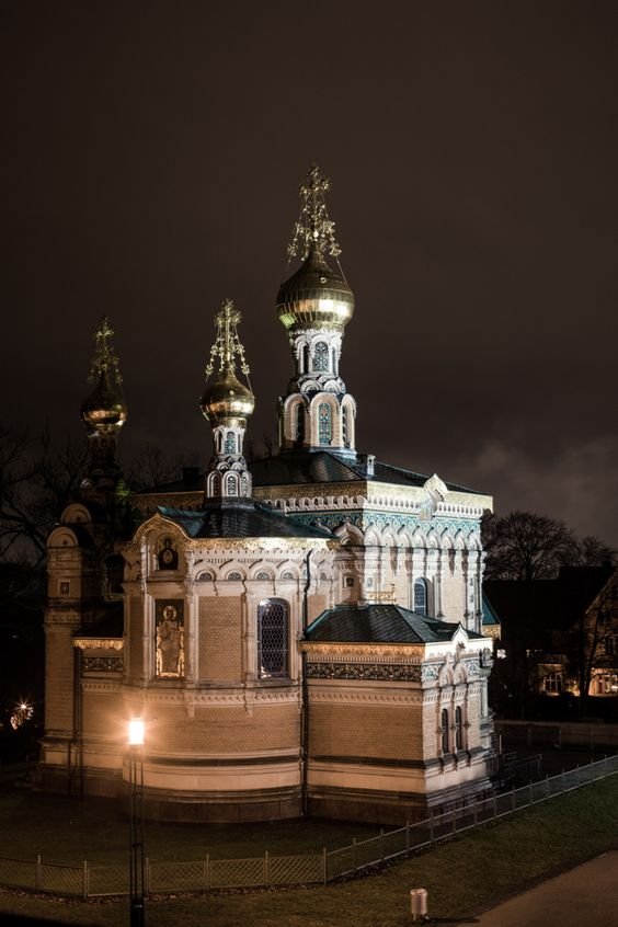 #Mathildenhöhe Russische Kapelle
