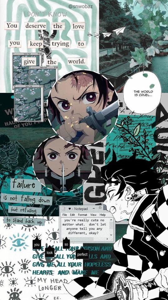 Kimetsu No Yaiba Wallpaper Iphone Tumblr In 2020 Cute Anime
