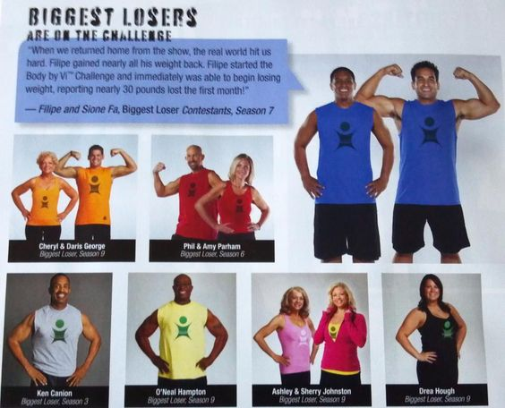 "Remember these ""Biggest Losers""?  They are on the challenge!"