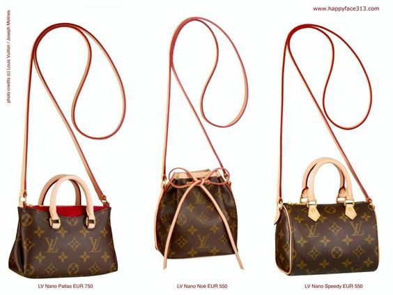 knock off purse parties - http://wp.me/p5WtEB-2tc New Louis Vuitton Nano Bag Collection ...