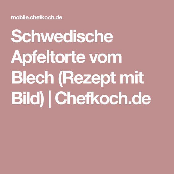 Schwedische Apfeltorte vom Blech (Rezept mit Bild) | Chefkoch.de