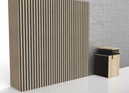 Panele Akustyczne Scienne Pionowe 3d Z Drewna Panele Lamelowe Pelnia Funkcje Dekoracyjne I Decor Home Decor Paneling