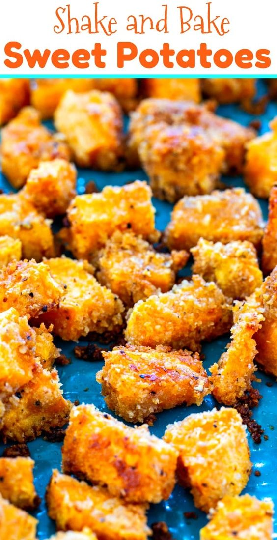 Shake and Bake Sweet Potatoes