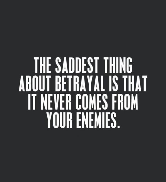 Popular Betrayal Quotes