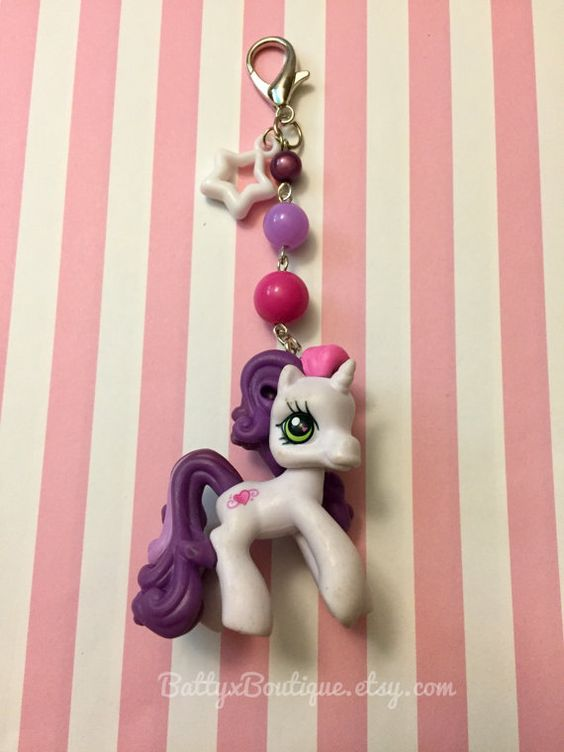 Sweetie Bell // My Little Pony // Keychain // Bag Charm