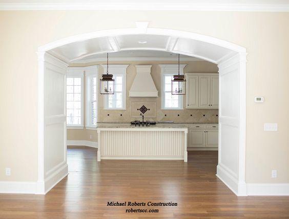 White kitchen idea! #michaelrobertsconstruction #custombuilder #coastalgeorgia #kitchens