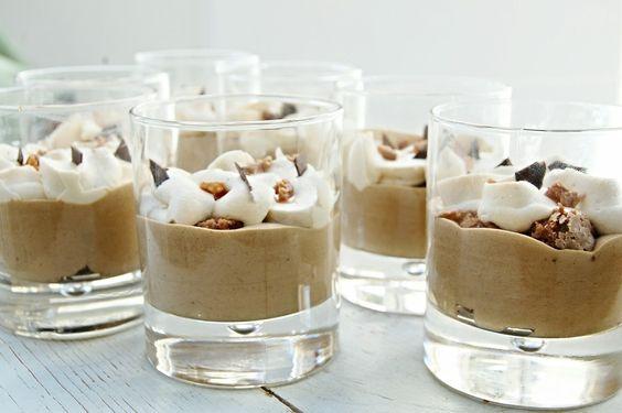 Bicchierotti Comfort Food…Caffè,Cioccolato, Brownie E Caramello! Più Comfort Di Così?